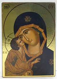 Virgin Mary Russian icon